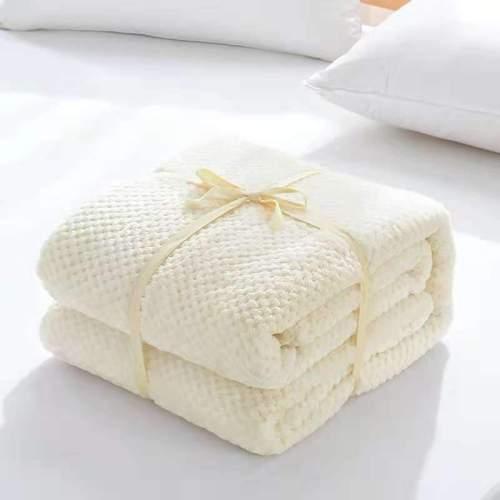 Super Soft Blanket Flannel Aircraft Sofa Beds Office Children Blankets Towel Travel Fleece Plaid Portable Travel Cover Blanket