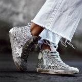EBUYTIDE Daily Casual Shinning Women Sneakers