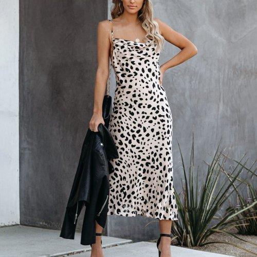 Sexy fashion leopard print dress