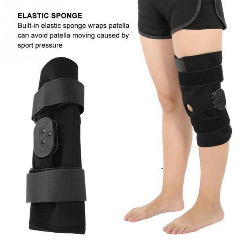 Orthopedic Knee Pad Orthosis Brace Support Ligament Injury Orthopedic Splint Wrap Knee Protector Medical Health Care Reduce Pain