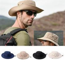 Unisex Summer Foldable Bucket Hat Women Outdoor Sunscreen Cotton Fishing Hunting Cap Men Basin Chapeau Sun Prevent Hats