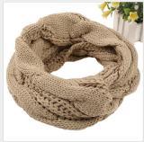 Ladies Women Winter Knitted Crochet Long Snood Tube Scarf Shawl Neck Warmer
