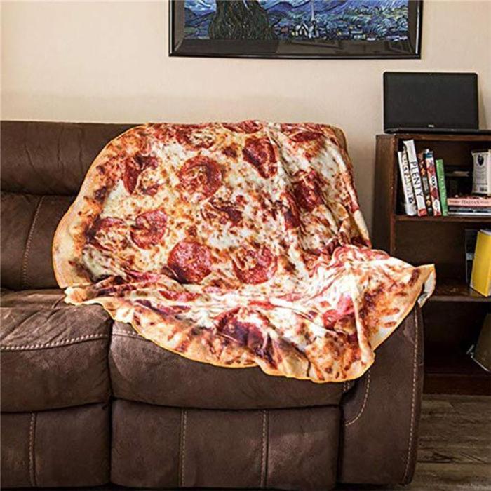 Pizza Wrap Blanket
