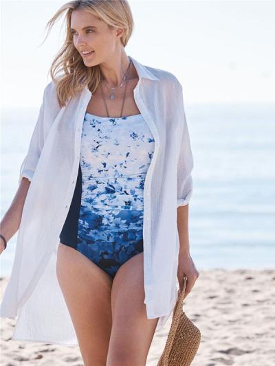 Vacation Beach Bikini Sun Cover-Ups