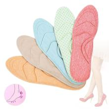 5D Flock Memory Foam Orthotic Insole Arch Support Orthopedic Insoles For Shoes Flat Foot Feet Care Sole Shoe Orthopedic Pads