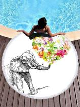 Beautiful Chic Round Beach Mat