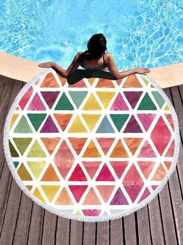 Super Fine Geometric Pattern Beach Mats