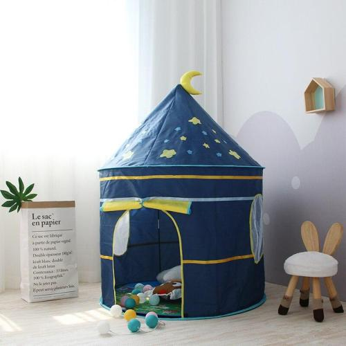 Kids Tent Indoor Outdoor Play House Portable Princess Castle Baby Play Girl Tent For Children Birthday Toys Christmas Gift