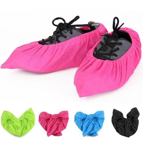 Reusable Shoe Covers New Non-woven Shoe Cover Household Thick Washable Shoes Covers Non-slip Non-disposable Guests Family Tools