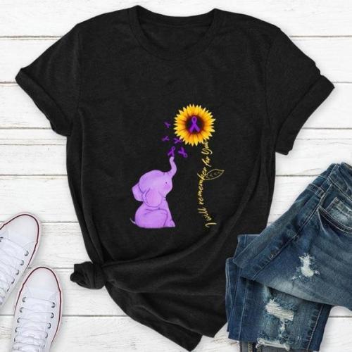 Fashion Creative Pattern Printing Ladies Short Sleeve