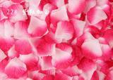 100PCS/Bag 5*5CM Silk Rose Petals for Wedding Decoration Romantic Artificial Rose Flower 40Colors Wedding Accessories