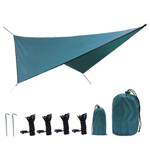 Camping Sun Shelter Lightweight Tent Tarp Rain Sun Shade Hammock Shelter Camping Picnic Pad Outdoor Waterproof Tent Shade
