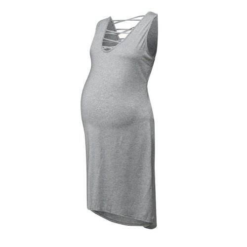 Women Maternity Summer Sleeveless Casual Sundress Pregnancy Dress clothes for pregnant women pregnancy dress