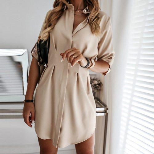 Elegant long Sleeve woman dress OL Office Lady Mini Dress V enck Tunic Split Clothes New Women Sexy Formal Bandage Dress