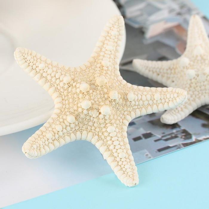 1/2 Pcs  Fashion Lady Hair Clips Women Girls Elegant Starfish Sea Star Hairpins Girls Summer Beach Barrettes Hair Accessories