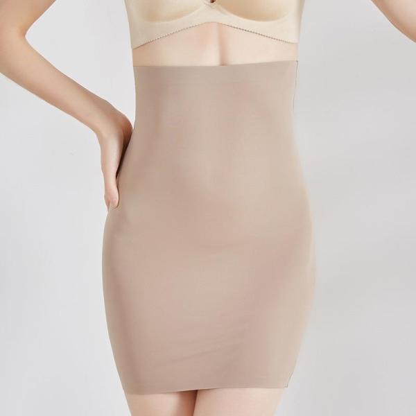 Women Super Elastic Control Slips High Waist Shaper Slimming Underwear Body Shaper Tummy Control Half Slip