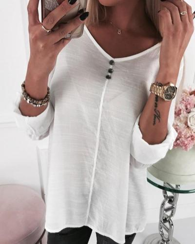 V Neck Lace Insert Top