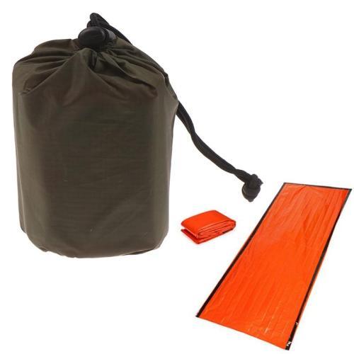 Outdoor Life Emergency Sleeping Bag Thermal Keep Warm Waterproof First Aid Emergency Camping Survival Travel Bag