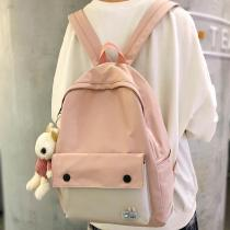 New Trendy Women Cute Backpack Nylon Female Harajuku School Bag Ladies Kawaii Backpack Girl Fashion Book Student Bag Travel 2020