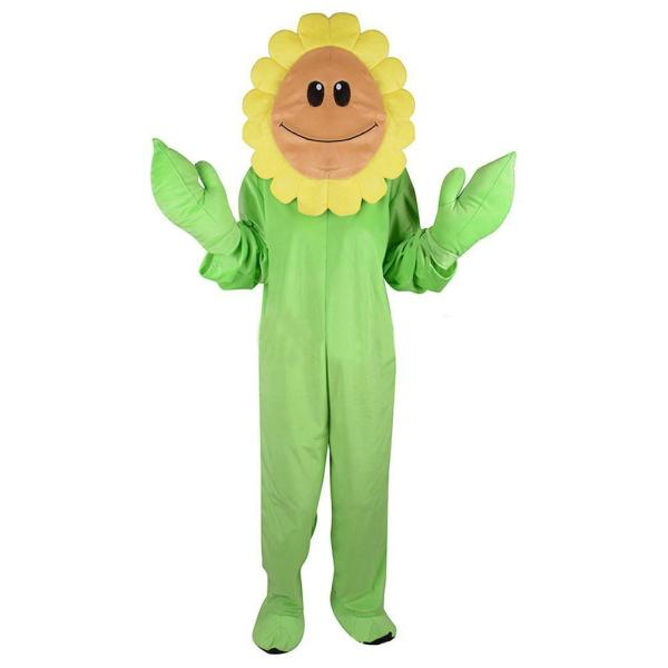 Kids Halloween Plants Vs. Zombies Sunflower Cosplay Costume