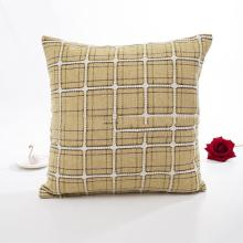 Linen Plaid Pillowcase