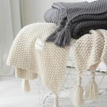 A High Quality Handmade Knitted Blankets for Beds Sofa Cover Super Soft Throw Plaids Bedspread mantas para cama