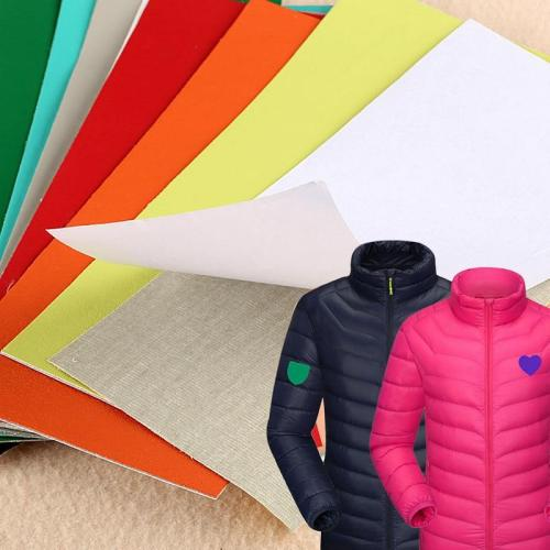 Self-sticking Waterproof Down Jacket Jackets Fabric Sticker Patches for Clothing Hole Repair Clothes Appliques Badge Stripes DIY