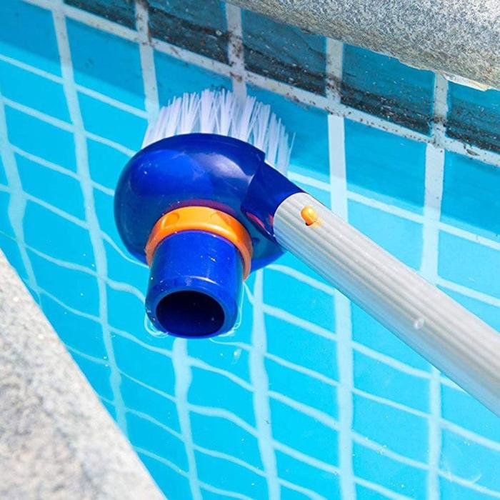 Small Suction Head Brush for Swimming Pool Brushes Suction Vacuum Machine Cleaning Accessories