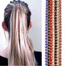 Headwear wig extension chain claw chain jewelry head chain BB clip hair chain hair accessories