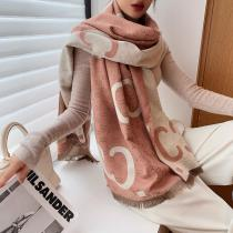 2020  Winter Scarf High Quality Cashmere Shawls Lady Pashmina Scarves Women Thick Warm Blanket Wraps Print Brand Female Foulard