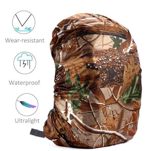 80l Camping Backpack Rain Cover Backpack Waterproof Bag Camo Tactical Outdoor Camping Hiking Climbing Dust Raincover