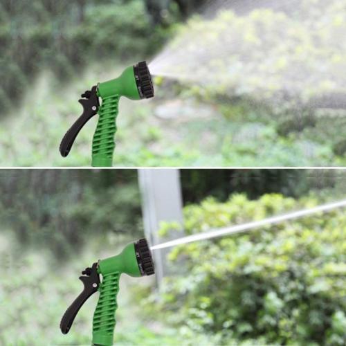 Green/Blue Hose Gun Garden Adjustable 7 Patterns Sprinkler Nozzles Water Spray Gun For Car Washing Water Hose Sprayer Head