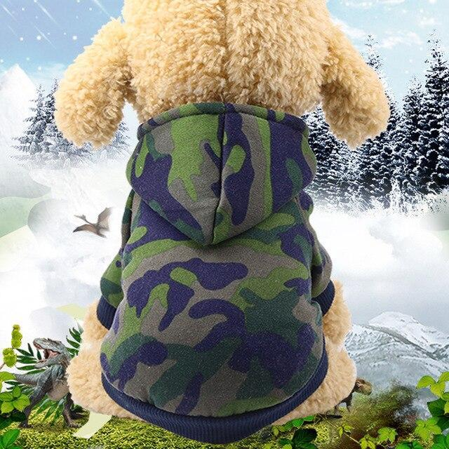 Solid Color Pet Dog Fleece Sweater for Dogs Warm Dog Clothes Dog Cool Hoodie Soft Puppy Dog Pet Clothes Sweatshirt Dog Costume