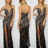 Fashion Sexy Lace Evening Dress