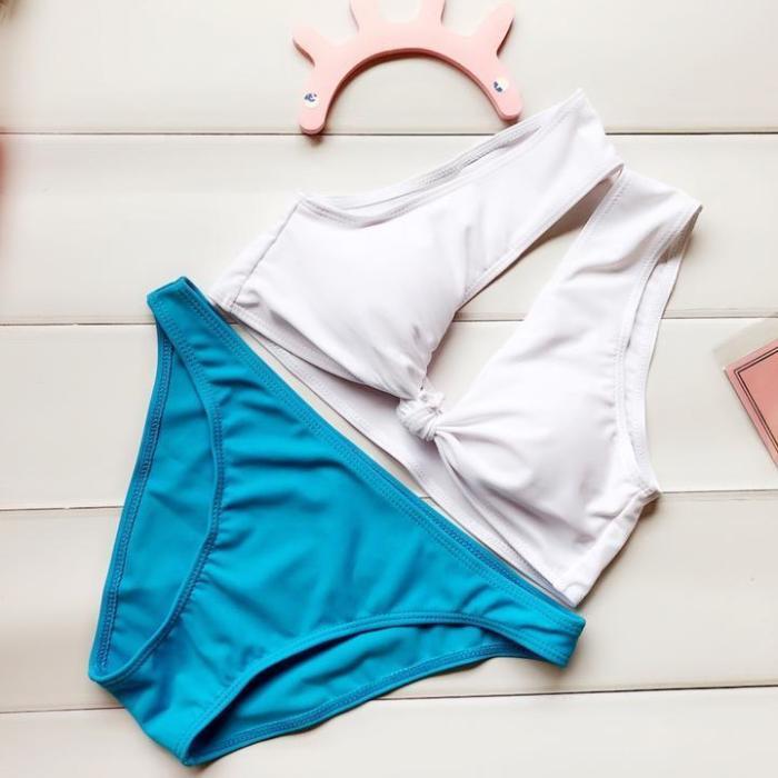 Bowknot Bikini Set