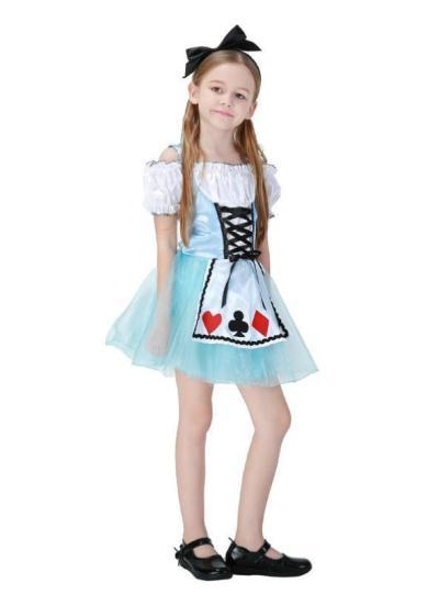 Fantasy Alice Children's Stage Costume