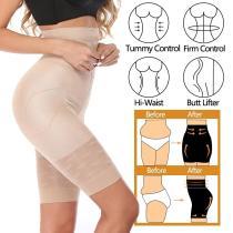 Women High Waist Body Shaper Slimming Tummy Control Panties Briefs Shapewear Underwear Body Shaper Lady shorts Under Skirts