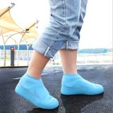 Reusable Silicone Shoe Covers Unisex Waterproof Shoe Case Non-slip Shoes Protector Outdoor Rain Boot Indoor Dustproof Foot Cover