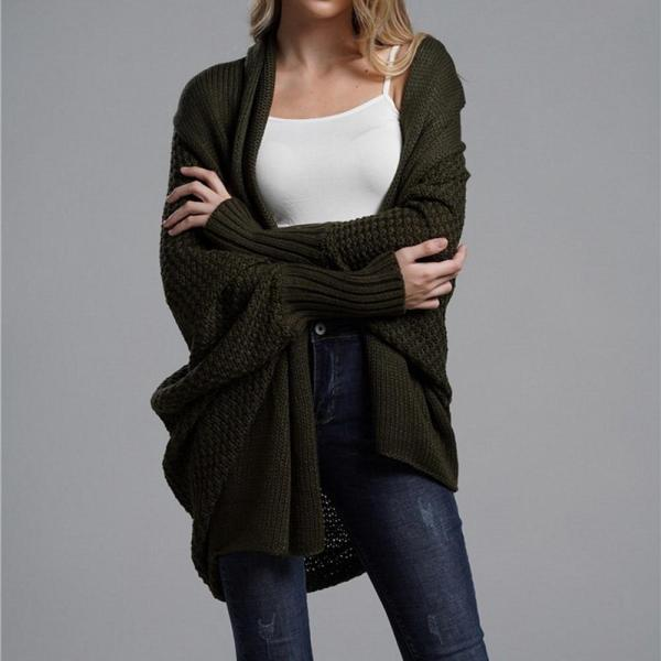2020 Spring Knitwear Cardigan Sweater Women Long Sleeve Large Size Knitted Sweaters Cardigan