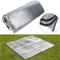 200*150CM Waterproof Aluminum Foil Camping Mat Foldable Sleeping Picnic Beach Outdoor Mat
