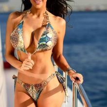 Snake Skin Exotic Bikini