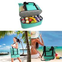 Picnic Bag Large Capacity Outdoor Camping Travel Food Organizer Portable Beach Waterproof Dry Quickly Insulation Ice Lunch Bags