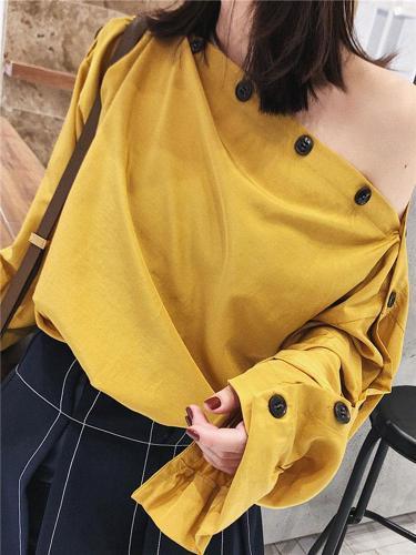 Fashion Bubble Long Sleeve Shirt