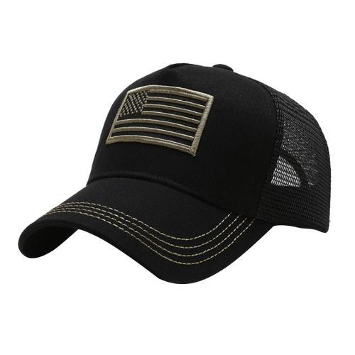 Tennis Baseball Cap Criss Cross Cap Men Women Running Cap National Flag Embroidered Beach Hat Outdoor Pure Cotton Sport Hat