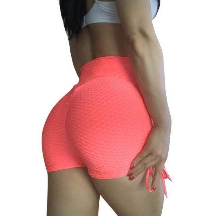 2020 Women Gym Jogging Yoga Shorts Leggings Breathable Women's Yoga Short Sports Fitness Solid Color Thin Skinny Shorts