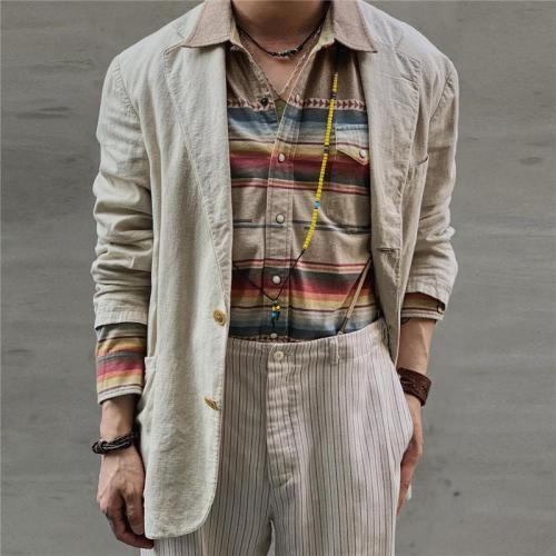 Men's Casual Solid Color Blazer
