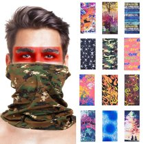 3D Seamless Sport Magic Neck Gaiter Cover Face Scarf Fishing Cycling Hunting Hiking Bandana Tube Scarves Men Women