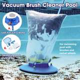 Portable Swimming Pool Vacuum Cleaner Hot Spring Cleaning Tool Suction Head Pond Fountain Outdoor Garden Vacuum Cleaner Brush