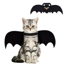 Halloween Pet Dog Cat Bat Wing Cosplay Prop Halloween Bat Fancy Dress Costume Outfit Wings Cat Funny Costume Supplies M