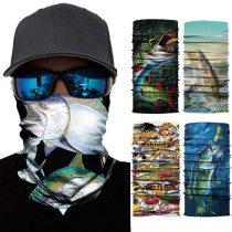 High Elastic 3D Seamless Bandana Skull Cycling Men Women Headwear Buffs Face Mask Headscarf Ski Hiking Magic Bandanas Balaclava
